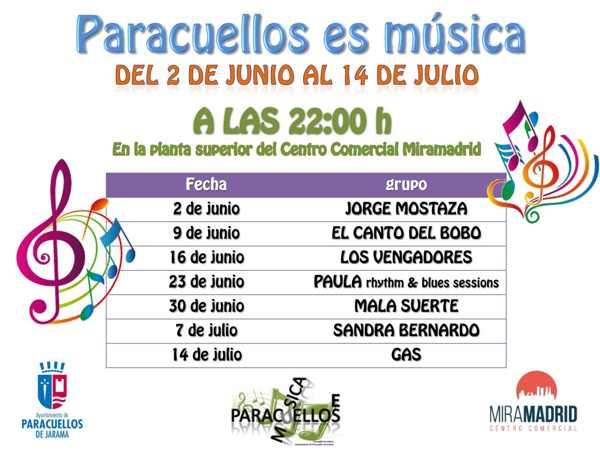 Paracuellos abre ciclo de conciertos en verano - El tiempo en paracuellos del jarama ...